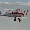 Tiger Moth in flight